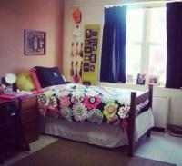 dorm room | Dorm Room Ideas | Pinterest | Monogram above ...
