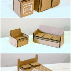 Collapsible Computer Chair Orange Folding Covers For Sale 25+ Best Ideas About Cardboard Dollhouse On Pinterest   Recycle Box, Doll House Crafts ...