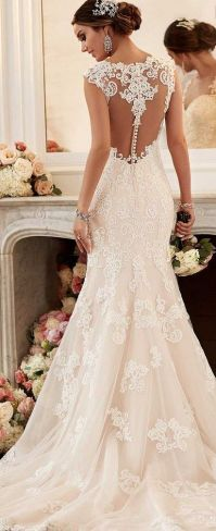 25+ best ideas about Fitted Wedding Dresses on Pinterest ...