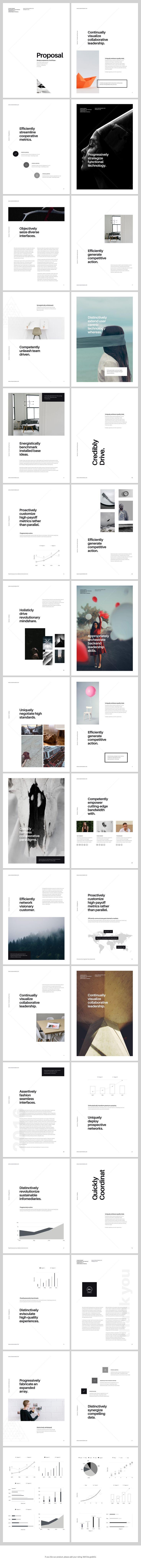 A4 Keynote Presentation for Print by GoaShape on @Creative Market
