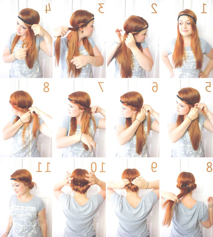 Best 25 Frisuren Mit Haarband Ideas On Pinterest