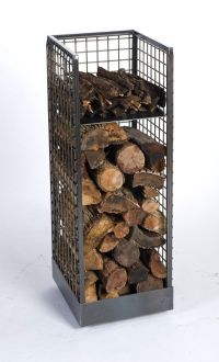 25+ best ideas about Firewood holder on Pinterest