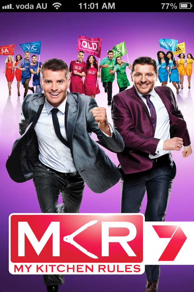 My Kitchen Rules Australia In New Zealand it is on tv two