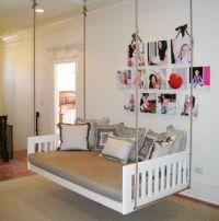 pinterest DIY hanging beds | hanging bed | hanging beds ...