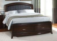 25+ best ideas about Dark wood bed frame on Pinterest ...