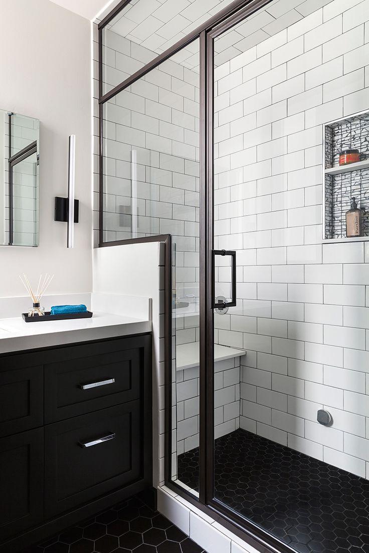 Best 20 Black White Bathrooms Ideas On Pinterest City