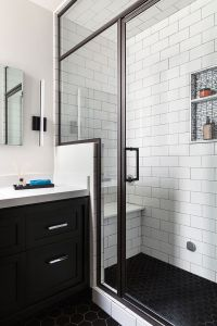 Best 20+ Black White Bathrooms ideas on Pinterest