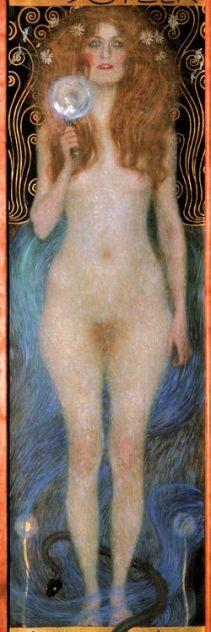 Resultado de imagen de klimt diosas