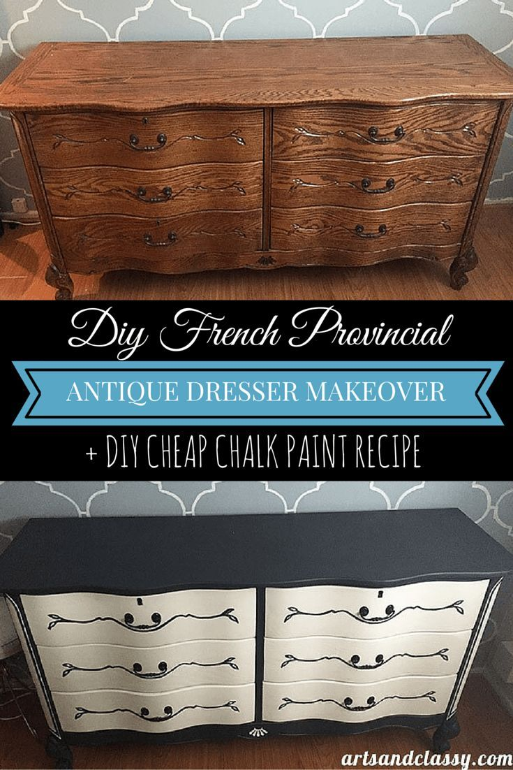 Paint and decoupage furniture a collection of Home decor