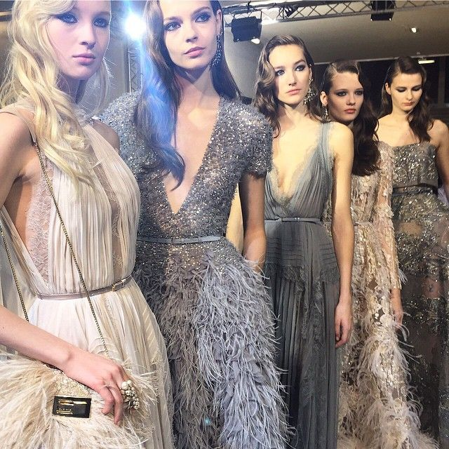 Fashion Inspiration — Runway : Elie Saab Spring 2015 Couture — a slideshow compilation of