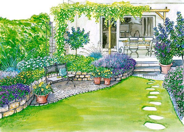 Ideen Für Einen Reihenhausgarten Gardens