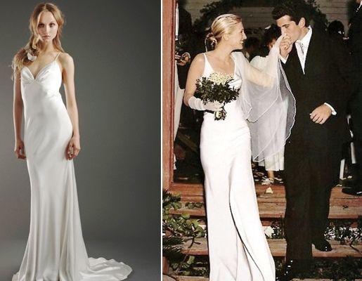 Best 20+ Carolyn Bessette Wedding Dress Ideas On Pinterest