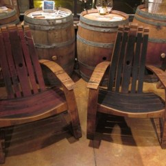 Barrel Stave Adirondack Chair Plans Best For Back Pain Wine Free - Woodworking Projects &
