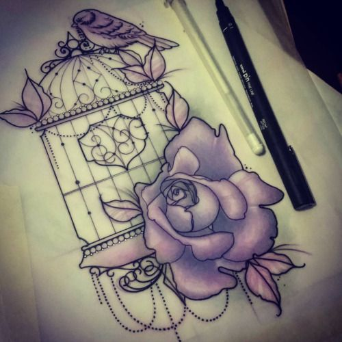 20 Penny Violet Tattoos Ideas And Designs