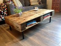 25+ best ideas about Wood pallet coffee table on Pinterest