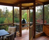 25+ best ideas about Screened deck on Pinterest | Screened ...