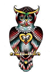 ideas owl tattoos