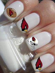 arizona cardinals football nail