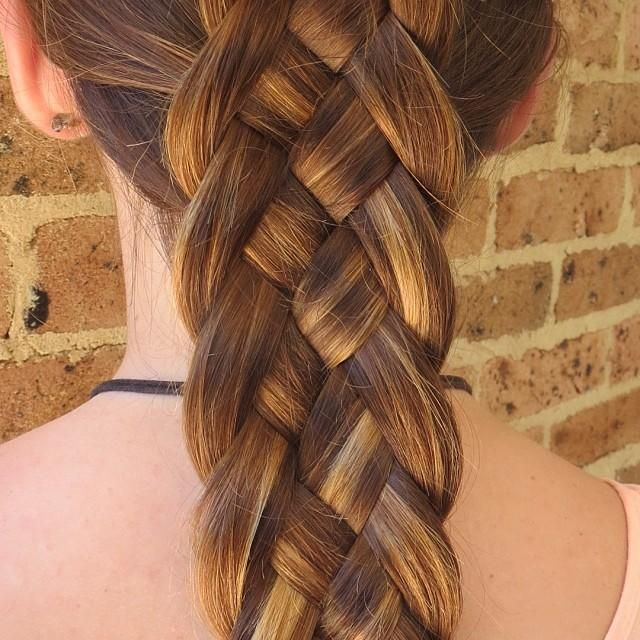 5 strand dutch braid  Hairstyles for Long Hair  Pinterest  Coloring Style and Dutch braids