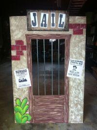 Cardboard Western Jail | Party Ideas | Pinterest | Westerns