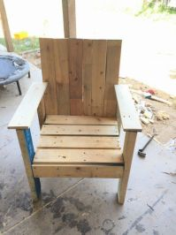 1000+ ideas about Pallet Chairs on Pinterest | Pallets ...