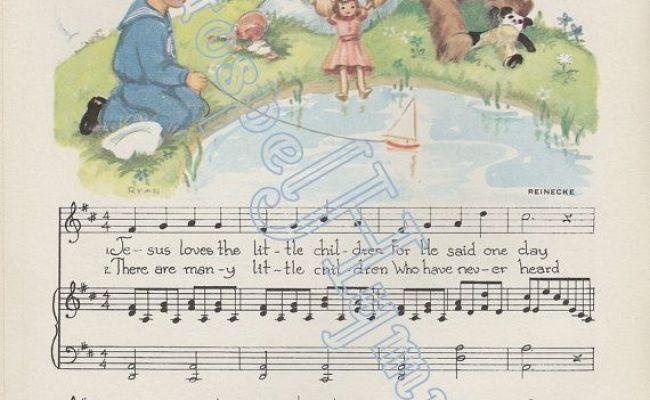 Jesus Loves The Little Children Instant Download Little