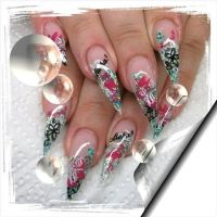 Kinky styletto nails   Nailssssssss.... :)   Pinterest   Nails