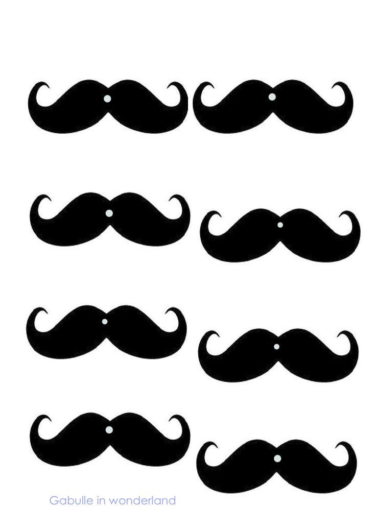 Gabulle in Wonderland: DIY: mustache straws (tutorial and