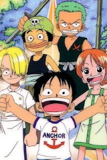 Cute Hug Wallpaper Anime Manga One Piece Characters Green Haired Kid Zoro