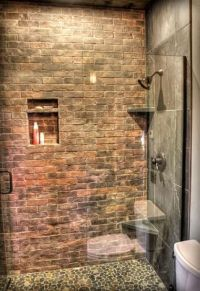 25+ best ideas about Brick bathroom on Pinterest | Brick ...