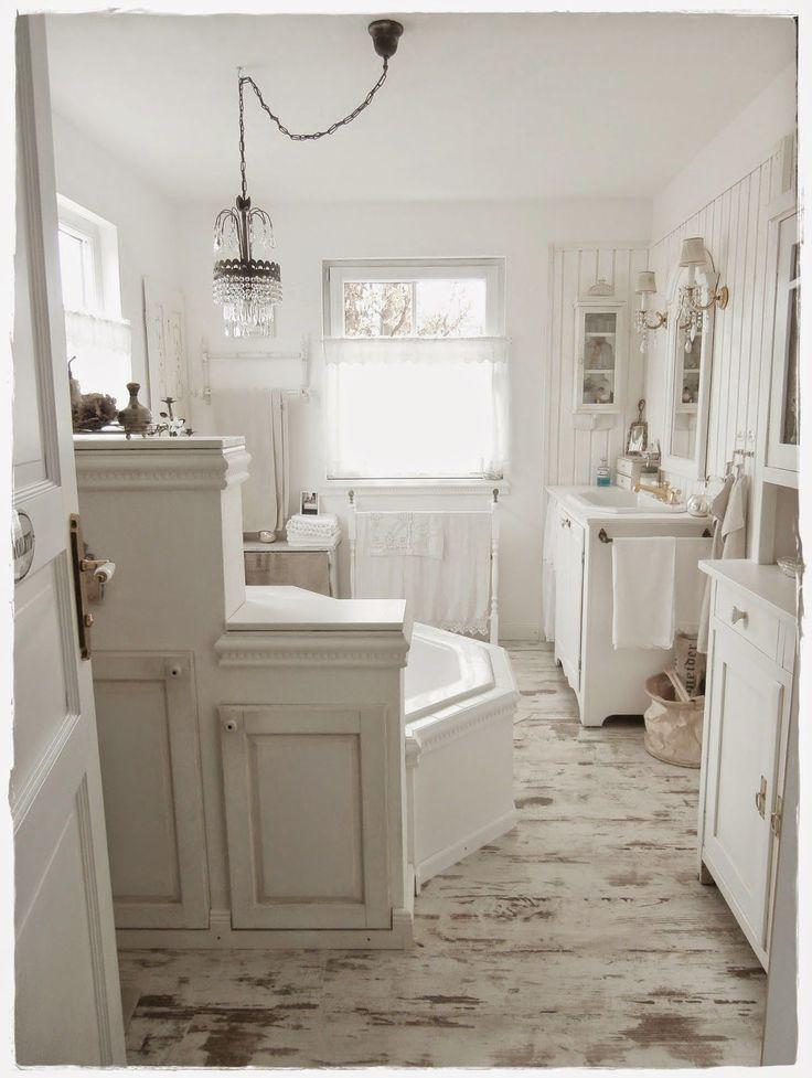 Shabby and Charme Una favolosa stanza da bagno in stile shabby chic  Bathroom  Pinterest