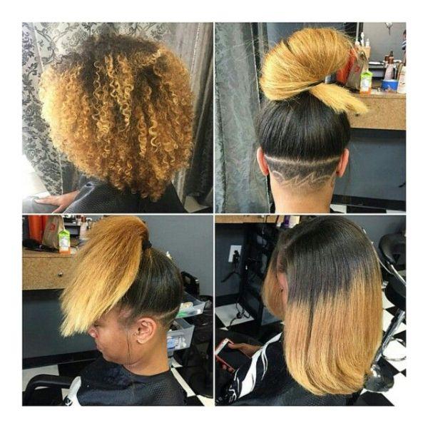 30 Undercut Hairstyles For Natural Hair Hairstyles Ideas Walk