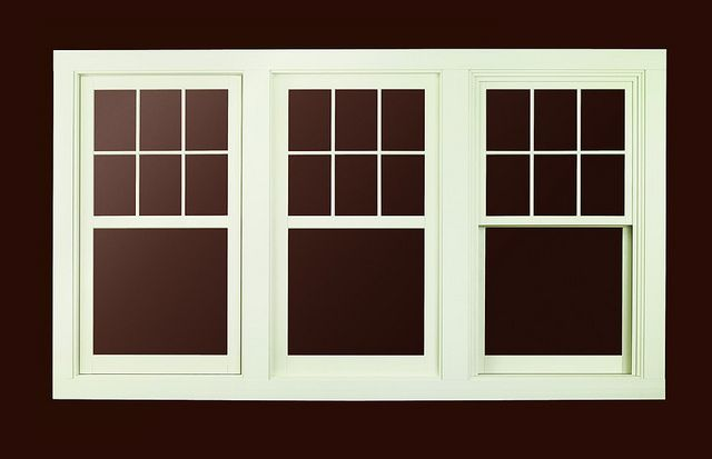 A Series Casement Window With Exterior Trim Craftsman