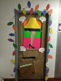 Killing the door decorating contest at work! Unfortunately ...