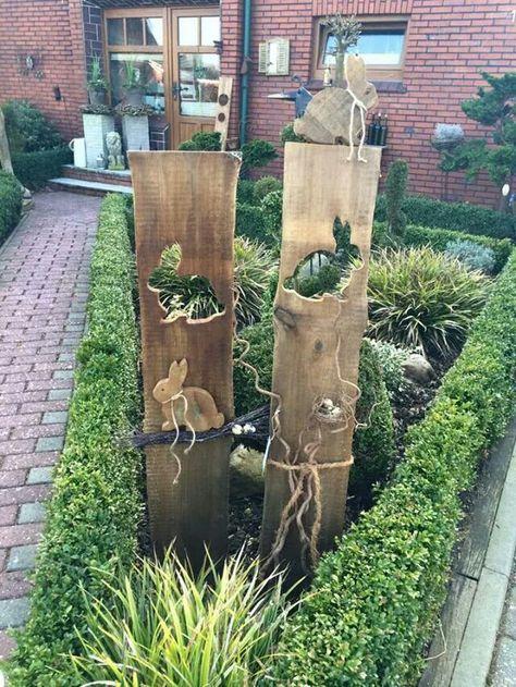 25 Best Ideas About Osterdeko Garten On Pinterest Windlicht Diy