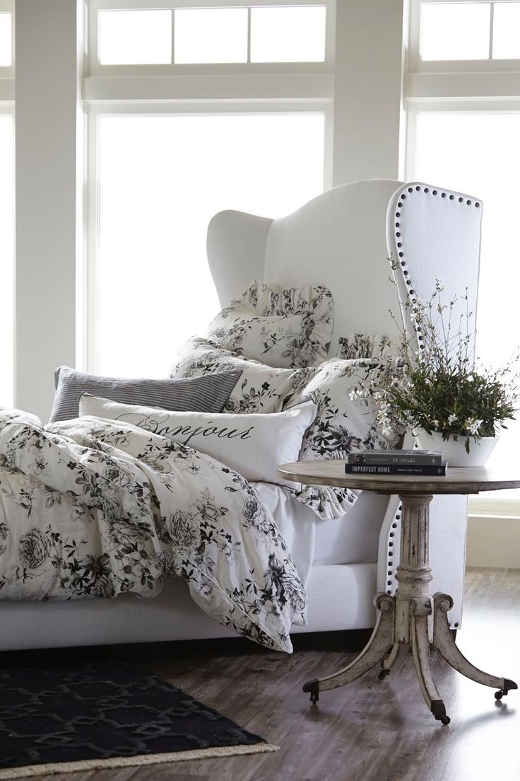 ethan allen wingback chairs desk and chair set 17 best images about design | furniture on pinterest miss mustard seeds, french linens ...