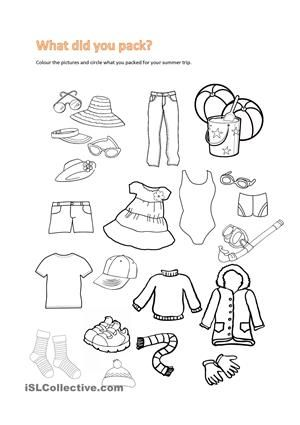 1000+ images about clothing vocabularies on Pinterest