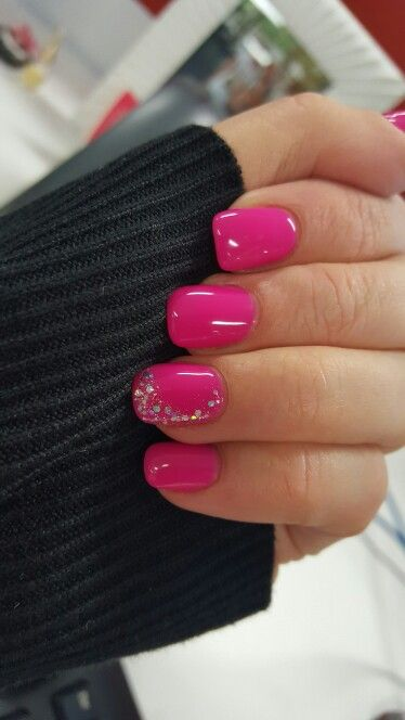25 best ideas about Hot pink nails on Pinterest Barbie