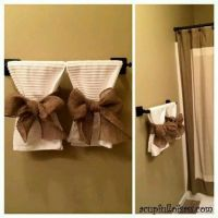 25+ best ideas about Decorative Bathroom Towels on