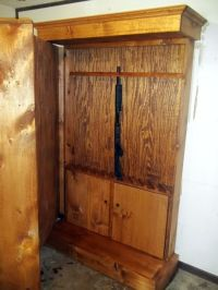 17+ best ideas about Hidden Gun Cabinets on Pinterest ...
