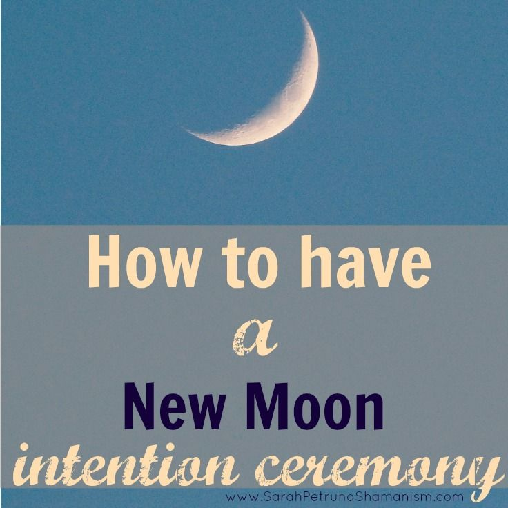 Howto a new moon intention setting ceremony the ojays