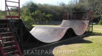 Annondale Metal Skate Ramp Halfpipe Skateramp Miniramp ...
