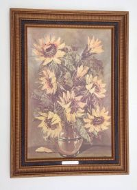 Rare Retired Home Interiors Embossed Picture Framed ...