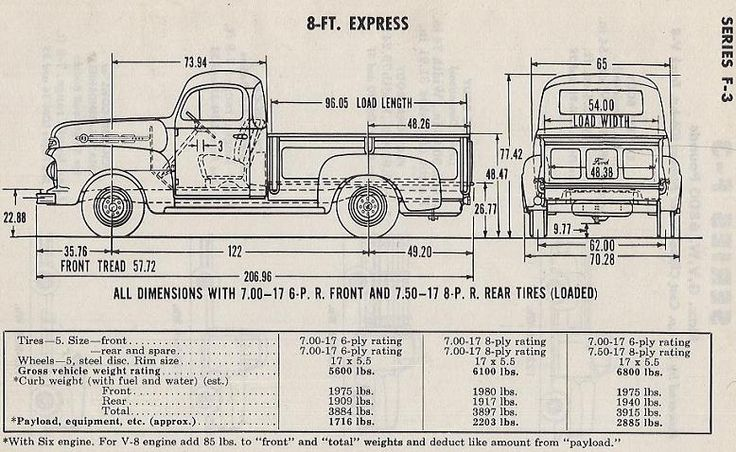 1956 Dodge Truck Wiring Diagrams 1950 F3 Weight Ford Truck Enthusiasts Forums Classic