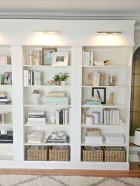25+ best ideas about Bookcase lighting on Pinterest ...