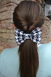 cute easy ponytails ideas