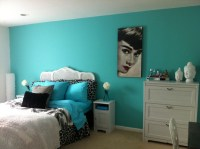 Tiffany blue girls room love the Audrey hepburn minus the ...