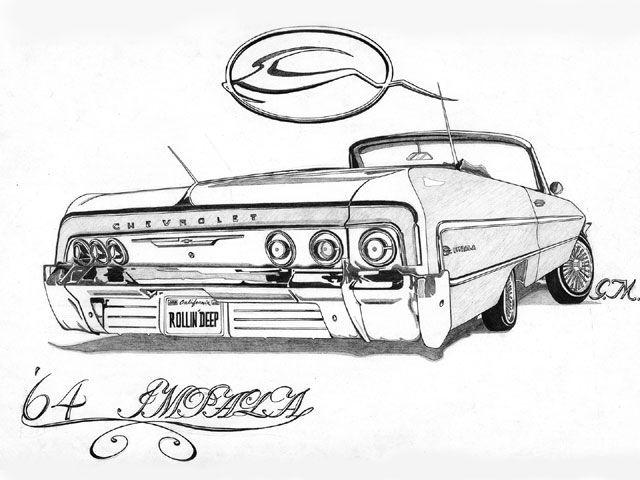 '64 Impala Rollin'Deep by Gerardo Martinez Riverside, CA