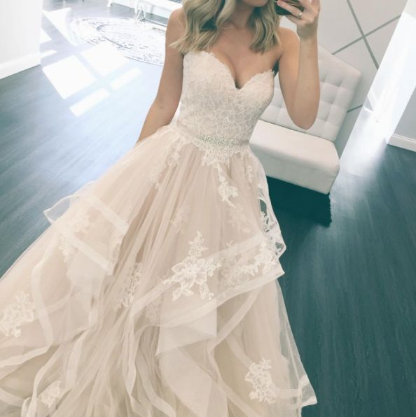 Stella York Bridal // Layered Ballgown // Wedding Dress// One & Only Bridal Boutique