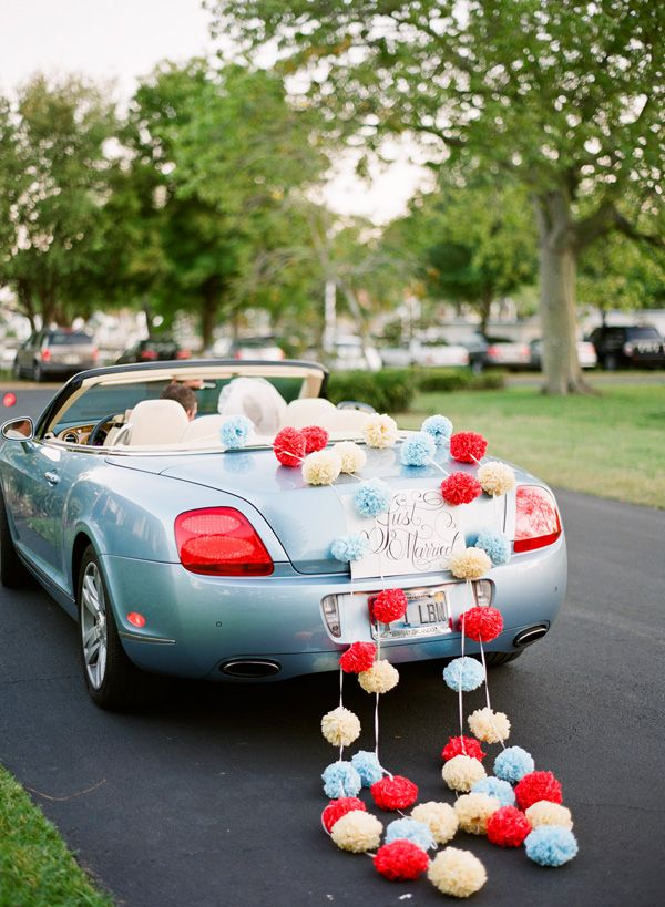 17 Best ideas about Wedding Car Decorations on Pinterest  Wedding cars Car decorating and